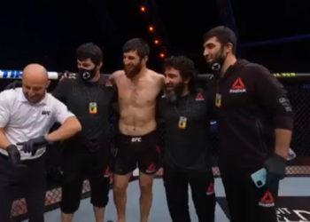 Магомед Анкалаев одержал победу над Ионом Куцелабой
