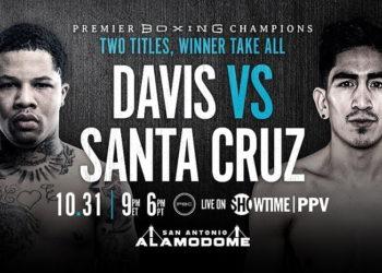 Вечер бокса: Дэвис vs Круз