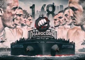 Hardcore FC: Битва на воде — Первая 1/8