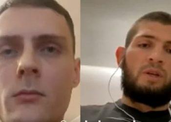 Видео интервью с Хабибом Нурмагомедовым для FightSpace