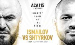ACA 115: Исмаилов — Штырков