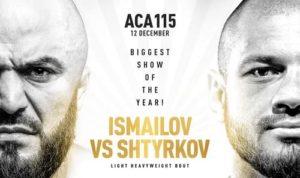 ACA 115: Исмаилов - Штырков