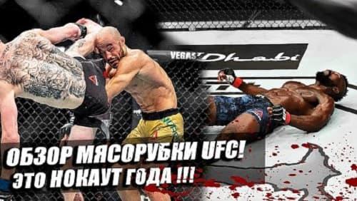 Обзор турнира UFC Fight Night 179