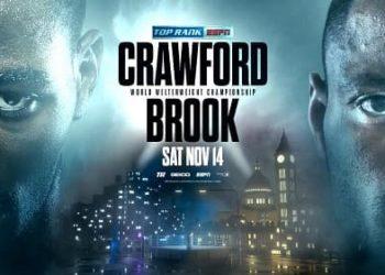 Бой Кроуфорда и Брука объявлен официально