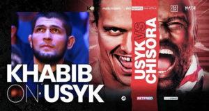 Хабиб Нурмагомедов хвалит Усика и ждет его бой с Фьюри
