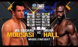 Видео боя Юрайя Холл — Гегард Мусаси 1 / UFC Fight Night 75