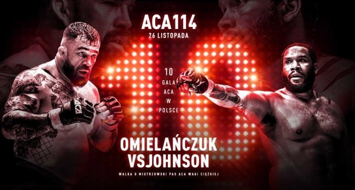 ACA 114: Омельянчук — Джонсон / Прямая трансляция