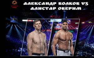 Александр Волков сразится с Алистаром Оверимом