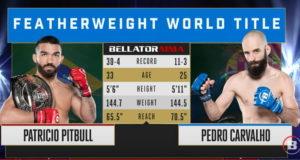 Видео боя Патрисио Фрейре - Педро Карвалью / Bellator 252
