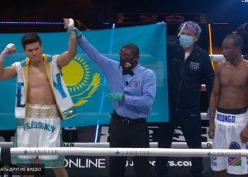 Данияр Елеусинов одержал победу над Джулиусом Индонго