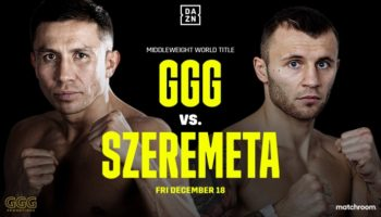 Головкин и Шеремета проведут бой в декабре