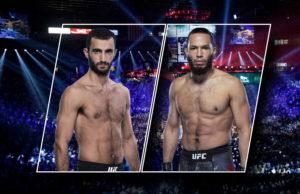 Видео боя Гига Чикадзе - Джейми Симонс / UFC Vegas 13