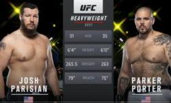 Видео боя Джош Паризиан — Паркер Портер / UFC Vegas 15