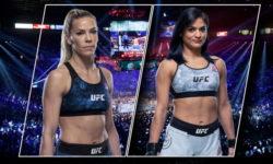 Видео боя Кэтлин Чукагян — Синтия Калвилло / UFC 255