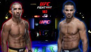 Видео боя Раони Барселос - Халид Таха / UFC Vegas 13