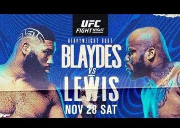 UFC Vegas 15: Кёртис Блейдс — Деррик Льюис