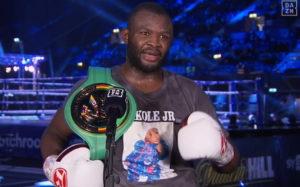 Мартин Баколе одержал победу над Сергеем Кузьминым