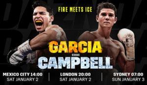 Райан Гарсия сразится с Люком Кэмпбеллом в субботу 2 января