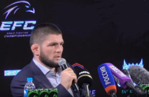 Хабуб Нурмагомедов хочет заключить контракт между EFC и UFC