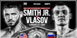Максимом Власов и Джо Смит проведут бой в феврале