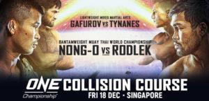 ONE: Collision course: Нонг-О vs Родлек