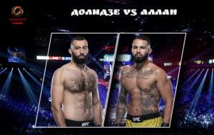 Видео боя Роман Долидзе - Джон Аллан / UFC Vegas 16