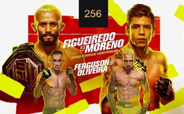 UFC 256: Фигейреду - Морено / Прямая трансляция