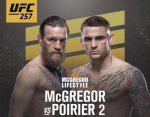 UFC 257: Конор Макгрегор vs Дастин Порье 2