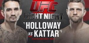 UFC Fight Night: Холлоуэй vs Каттар