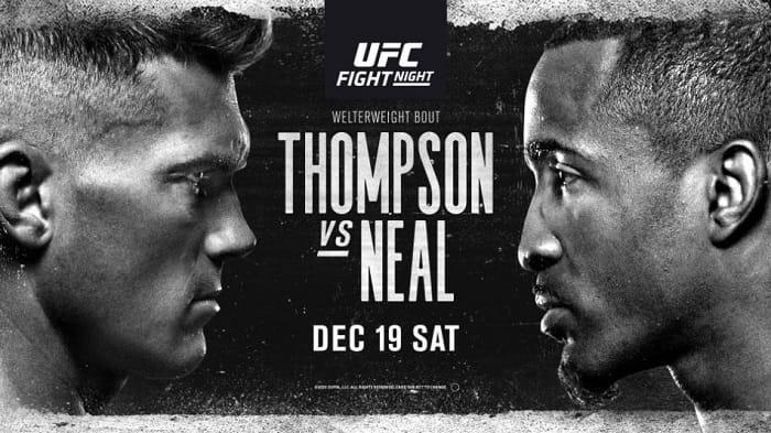 UFC Vegas 17: Томпсон - Нил / Прямая трансляция