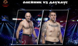 Видео боя Алексей Олейник — Крис Даукас / UFC Fight Night 185