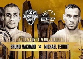 EFC 32 & UAE Warriors 15 / Прямая трансляция