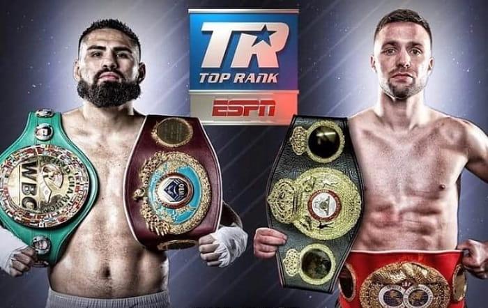 Джош Тейлор и Хосе Рамирес определят в бою абсолютного чемпиона