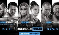 BKFC: Knucklemania — Ванзант vs Харт