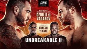 ONE FC: Unbreakable 2 - Черилли vs Вагабов