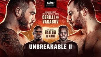 ONE FC: Unbreakable 2 — Черилли vs Вагабов