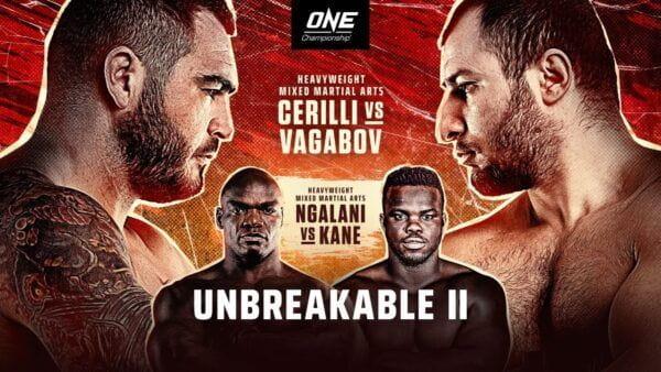 ONE FC: Unbreakable 2 - Черилли vs Вагабов / Прямая трансляция