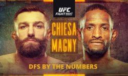 UFC Fight Night: Кьеза — Магни / Прямая трансляция
