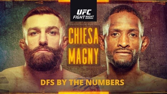 UFC Fight Night: Кьеза - Магни / Прямая трансляция