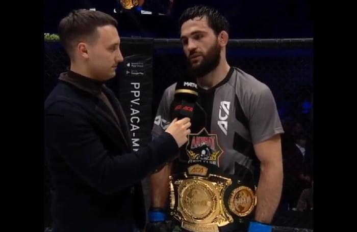 Абубакар Вагаев одержал победу над Мурадом Абдулаевым