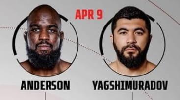 Андерсон vs Ягшимурадов