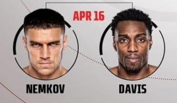 Немков vs Дэвис