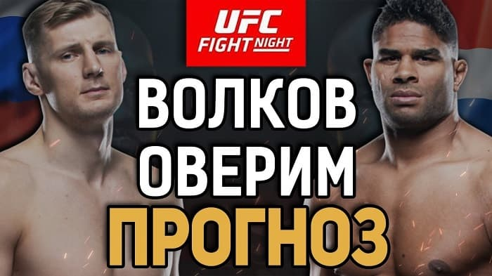 Прогнозы от бойцов UFC на бой Волков vs Оверим