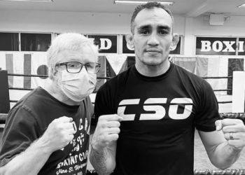 Тони Фергюсон берет уроки бокса у Фредди Роуча