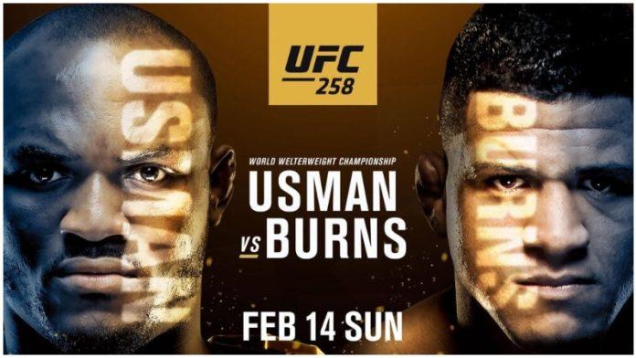Прямая трансляция UFC 258: Усман - Бернс