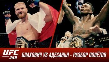 UFC 259: Блахович vs Адесанья — Разбор полетов
