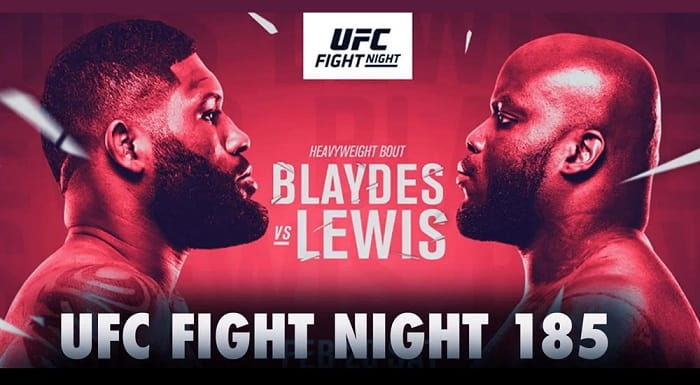 UFC Fight Night 185: Блейдс vs Льюис / Прямая трансляция