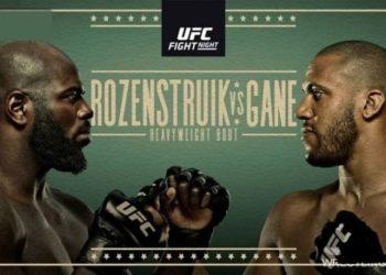 UFC Fight Night 186: Розенстрайк vs Гейн / Прямая трансляция