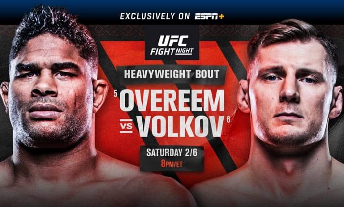 UFC Fight Night: Волков - Оверим / Прямая трансляция