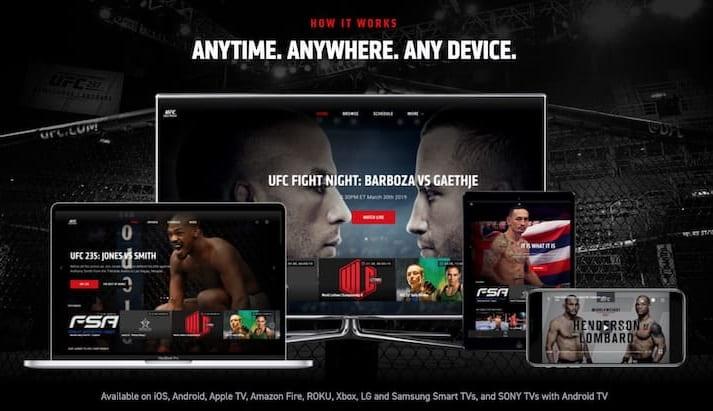 UFC Прямая трансляция